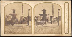 Group of 17 Early Calotype Stereograph Views - Place de la Concorde.jpg