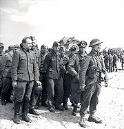 Group of prisoners who surrendered to Canadians in Courseulles