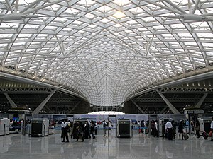 Guangzhou–Shenzhen–Hong Kong Express Rail Link - Guangzhou South Railway Station east concourse