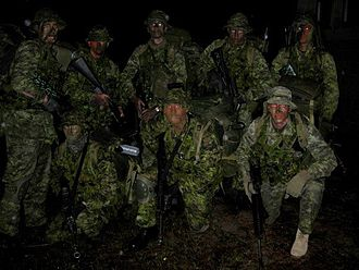 Canadian Army - Canadian Grenadier Guards in Florida