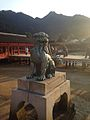 Guardian Lion of Itsukushima Shrine 2.jpg