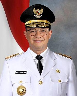 Governor of Jakarta - Image: Gubernur Anies