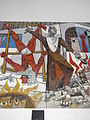 Guernica-Style Painting Showing Religious Repression of Indians - Ex-Templo de San Jose - Campeche - Mexico - 02.jpg