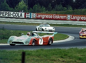 1974 World Sportscar Championship - Gulf Ford placed second with its GR7s