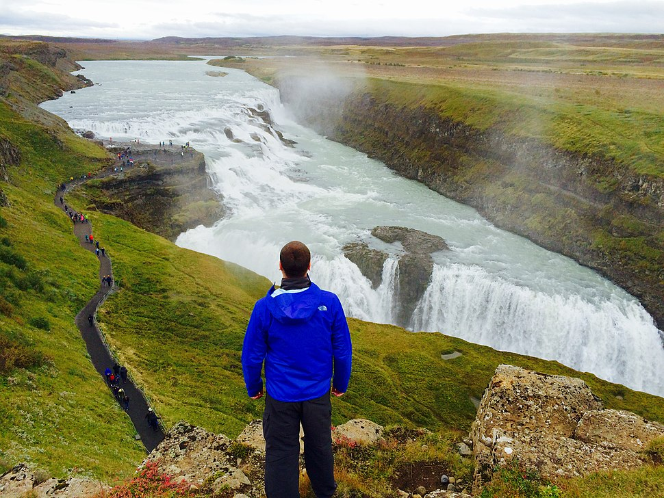 Gullfoss, an iconic waterfall of Iceland