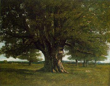 Gustave Courbet - Le chêne de Flagey