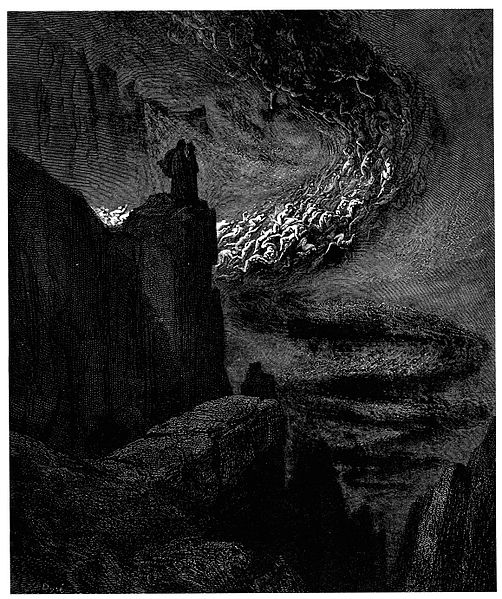 File:Gustave Doré - Dante Alighieri - Inferno - Plate 14 (Canto V - The hurricane of souls).jpg