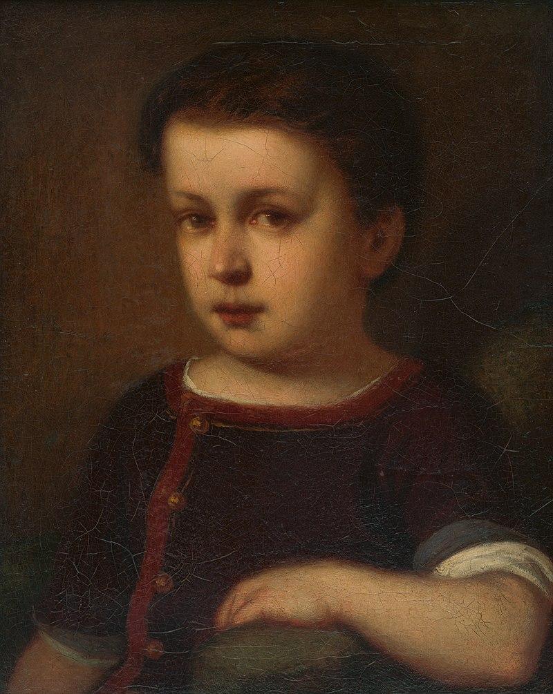 Dyula Benczúr - Podobizeň dieťaťa - O 154 - Восточно-Словацкий Gallery.jpg