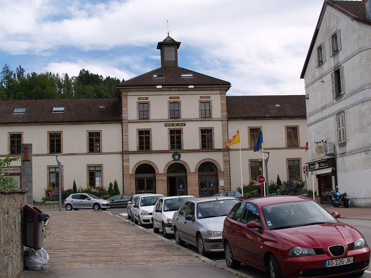 Gérardmer's townhall