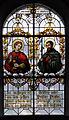 Hürbel Pfarrkirche Fenster Apostel Johannes und Thomas.jpg