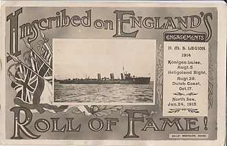 HMS Legion (1914) - Image: HMS LEGION