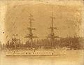 HMS Triumph with sailors on masts.jpg