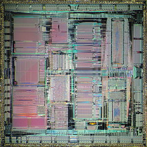 PA-7100 - Die shot of PA-7150