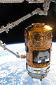 HTV-2 Kounotori 2 grappled by Canadarm2.jpg