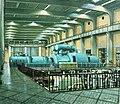 HUA-809915-Interieur van de electrische centrale Lage Weide van de PEGUS Provinciaal en Gemeentelijk Utrechts Stroomleveringsbedrijf Atoomweg 9 te Utrecht de tur.jpg