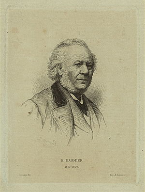 Honoré Daumier - Daumier later in his career.