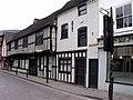 Halftimbered Shops, Friar Street, Worcester - geograph.org.uk - 1777465.jpg