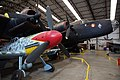 Halifax & Messerschmitt 109-G (28498652344).jpg