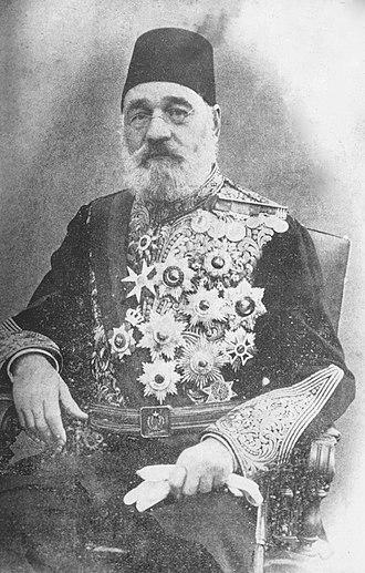 Halil Rifat Pasha - Image: Halil rifat pasa por