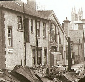 Westgate Hall, Canterbury - Westgate Hall 1944, having survived bombing