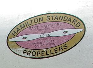Atlantic Southeast Airlines Flight 2311 - The logo of Hamilton Standard, who manufactured the defective propeller control unit
