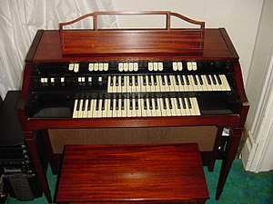 The Nice - A Hammond L-100 organ similar to the one used by Keith Emerson with the Nice.