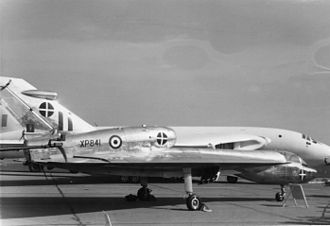Handley Page HP.115 - The HP.115 at the SBAC show in 1961