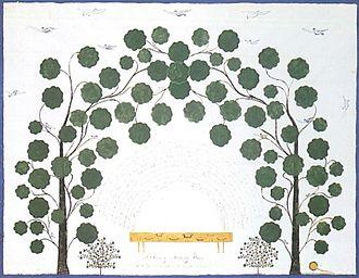 Hannah Cohoon - Hannah Cohoon, A Bower of Mulberry Trees, 1854