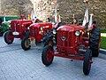 Hanomag Barreiros tractors in Lugo.jpg