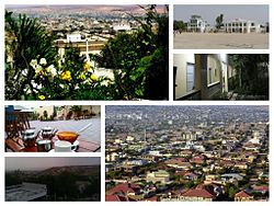 Montage of places in Hargeisa, Somaliland.