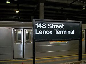 Harlem-148th Street Lenox Terminal sign.JPG