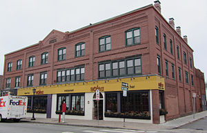 Harrington Block - Image: Harrington Block, 376 390 Moody St., Waltham, Mass
