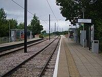 Harrington Road tramstop look north.JPG