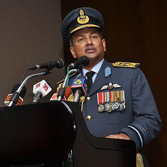 Commander of the Air Force (Sri Lanka) - Image: Harsha Abeywickrama