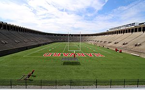 Harvard Stadium - The stadium in 2009