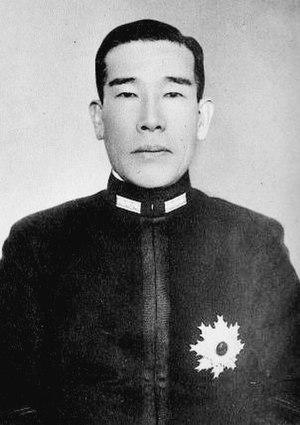 Kiyoshi Hasegawa (admiral) - Admiral Hasegawa Kiyoshi, circa 1940