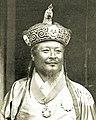 Hat and face detail, Ugyen Wangchuck, 1905 (cropped).jpg