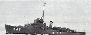 BRP Rajah Humabon (PS-11) - as JMSDF Hatsuhi c. 1967