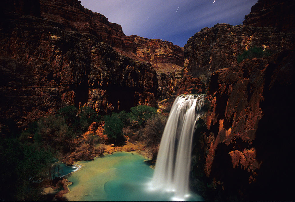 Havasu Falls at Night