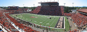 Reser Stadium - Reser Stadium in September 2008, looking south