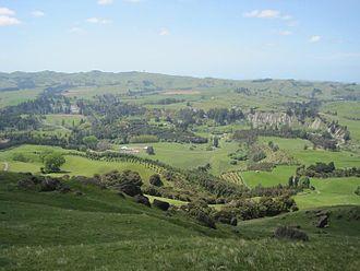 Hawke's Bay Region - Part of the Hawke's Bay landscape