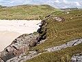 Headland at Oldshoremore Beach - geograph.org.uk - 1591221.jpg