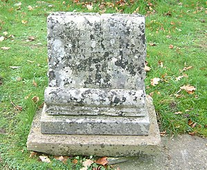 Ferdinand Walsin Esterhazy - Headstone: buried under the alias of Count de Voilemont