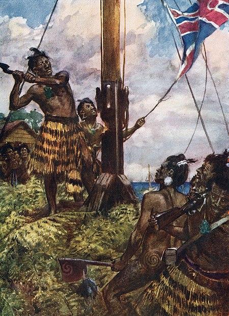 Perang Tiang Bendera