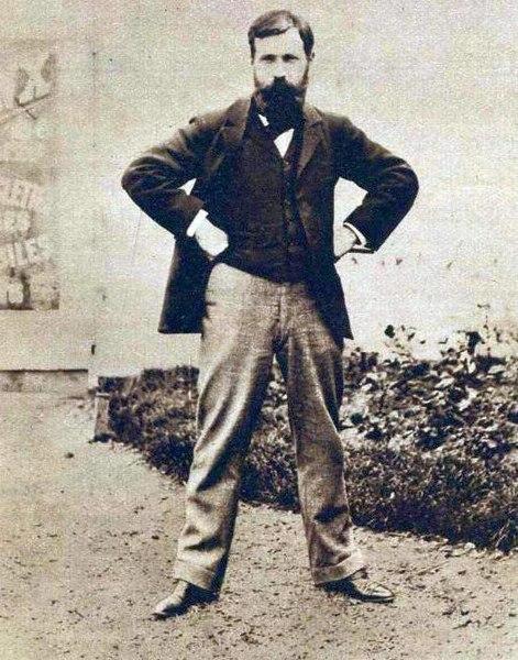 file henri desgranges en 1897 pour l 39 ouverture du parc