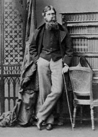 Henry Loch, 1st Baron Loch - Henry Brougham Loch, 1861, by Camille Silvy