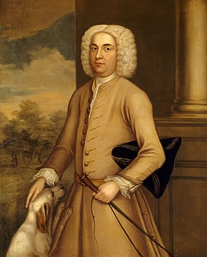 Henry Fownes Luttrell (died 1780) - Portrait of Henry Fownes Luttrell, National Trust, Dunster Castle