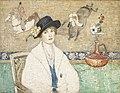 Henry Golden Dearth - The Black Hat (Miss Dorothy Hart) - 22.21 - Indianapolis Museum of Art.jpg