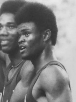 Herman Frazier - Frazier at the 1976 Olympics