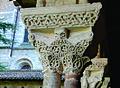 Het klooster van de Abdijkerk Saint-Pierre te Moissac - Detail 1, Frankrijk 2013.jpg